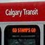 Calgary Transit CTrain Light Rail Train; Calgary, Alberta, Canada