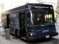 Porter 01 - 2006 Blue Bird Ultra LF - Porter Airlines Shuttle Bus Service
