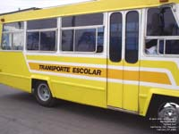 School bus in Monterrey, N.L., Mexico