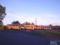Autobus Thomas school buses at the Drummondville,QC plant