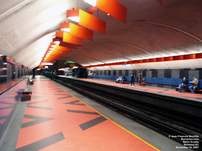 Cars On Line >> Ligne bleue du métro - Société de Transport de Montréal ...
