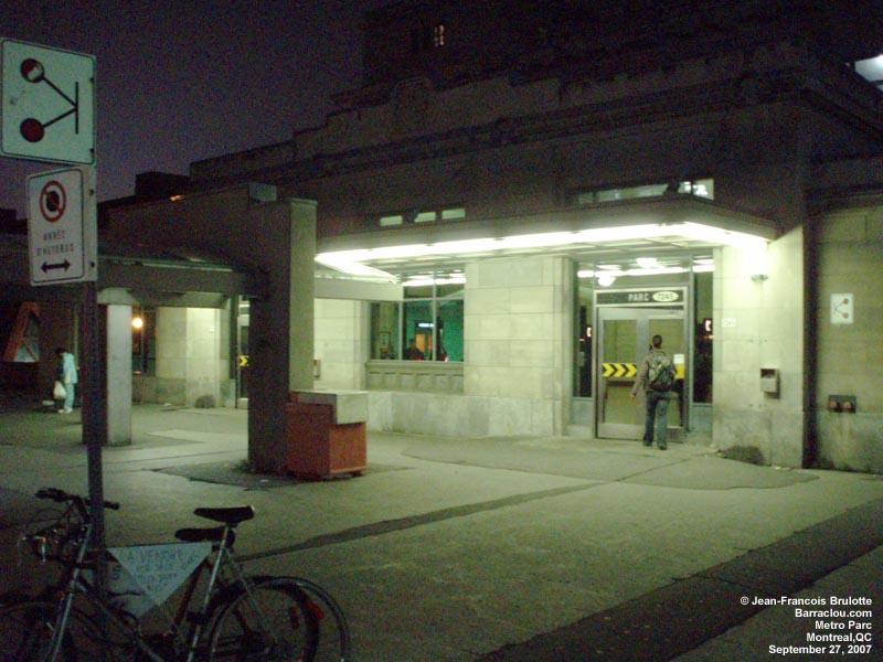 Parc Montreal Parc Stm Metro de Montreal