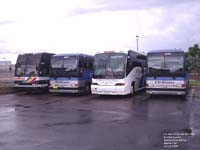 4 buses in Quebec