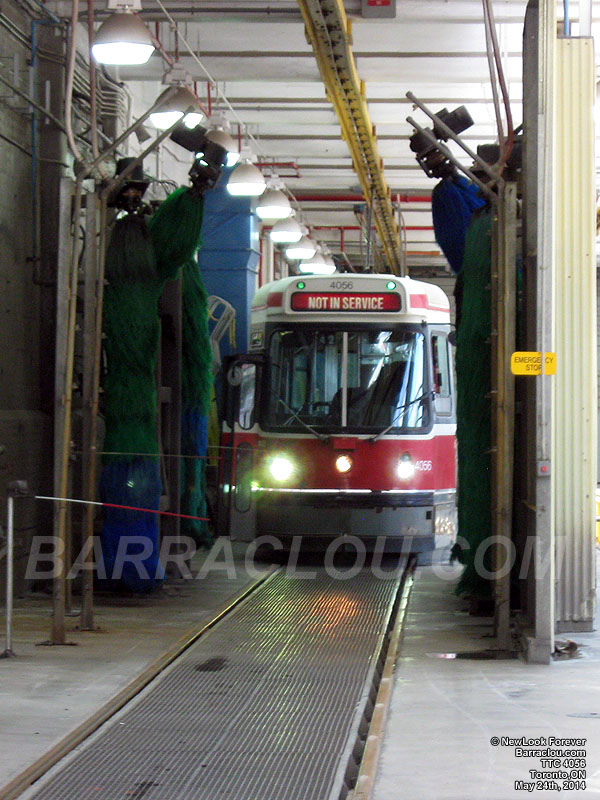 Ttc russell carhouse toronto ontario for Car house