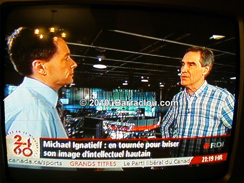 RDI identifie Micheal Ignatieff comme étant un intellectuel hautain