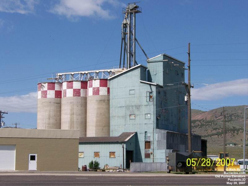 western grain elevators feed mills silos and terminals