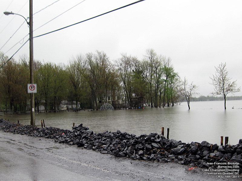 Inondations historiques de la rivière Richelieu, région de ...