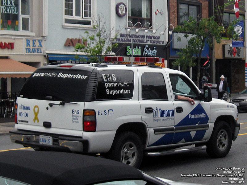 toronto ems ambulances paramedic and emergency vehicles