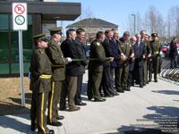 Inauguration du nouveau poste de Victoriaville