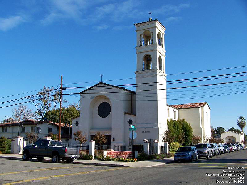 Visalia (St.Mary's Catholic Church)