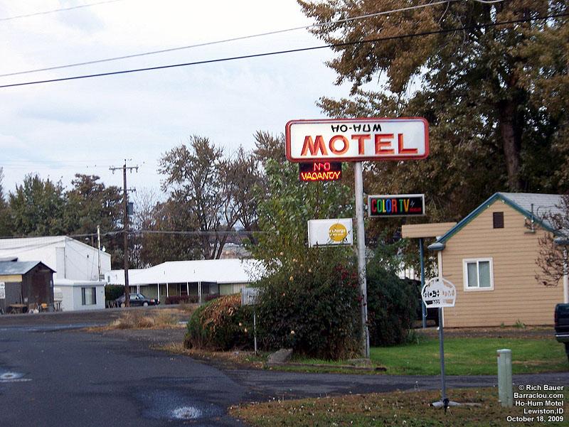 Lewiston Hu Hum Motel