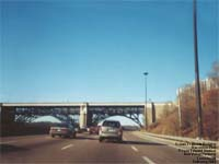 Prince Edward Viaduct, Don Valley Parkway / TTC Bloor-Danforth Subway Line