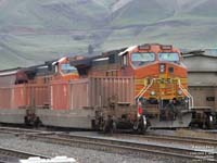 BNSF Railway double stack cars