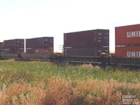 TTX Company - DTTX double-stack cars