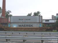 Sealand and Maersk containers