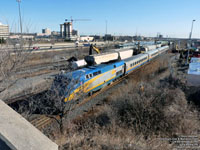 Via Rail 900 (P42DC / Genesis) in Pickering,ON