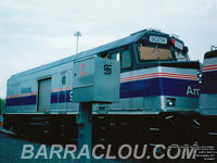 Amtrak *cabbage* baggage car / NPCU No. 90214 (ex-AMTK F40PH 214)