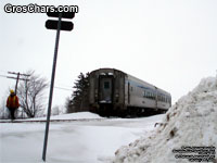 Via Rail coaches