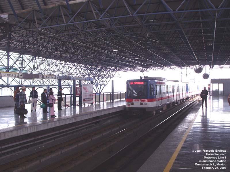 Monterrey transit buses - Barraclou.com