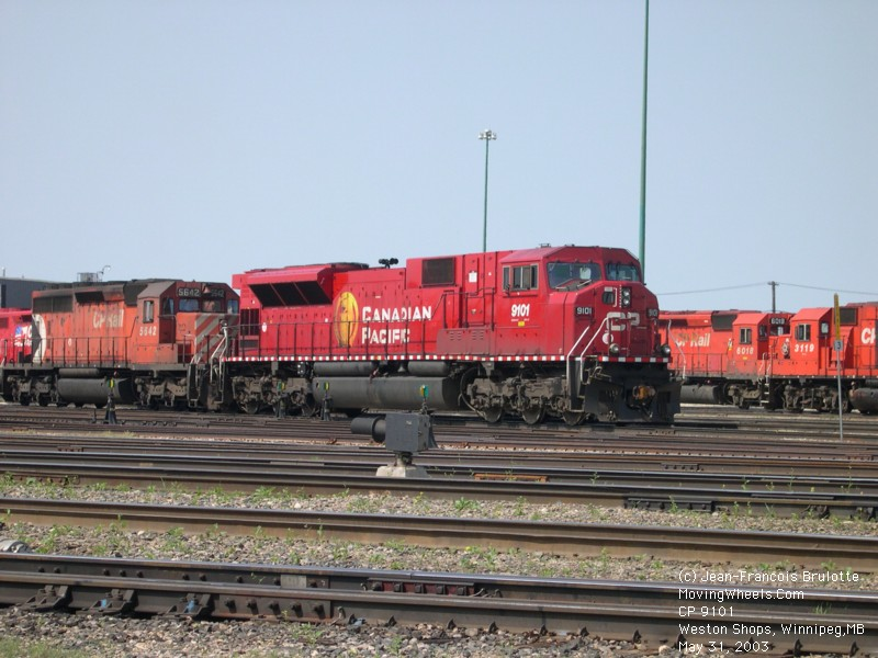 Retired Police Cars For Sale >> Canadian Pacific Railway - CPR SD90MAC and SD90MAC-H - Barraclou.com