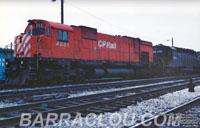 CP 4561 and NS (SOU) 3251 - SD40-2