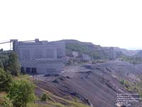 Asbestos & Danville Railway, A private railroad serving Mine Jeffrey Mine operations in Asbestos,QC
