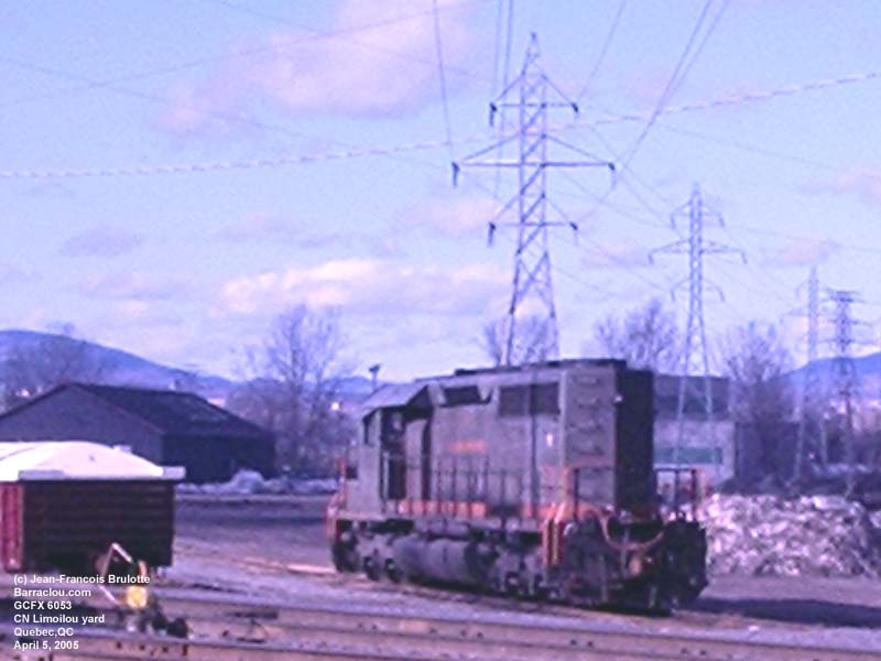 GCFX 6053 (on CN) - SD40-3 (Ex-CN 5192)