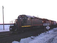 GCFX 6035 - SD40-3 (To WC 6905, then QGRY 6905, then QGRY 3326 - Ex-CN 5156)