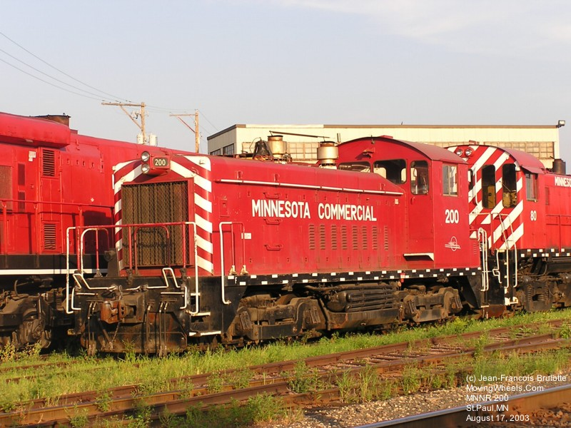 Minnesota Commercial Railroad - MNNR - Barraclou.com