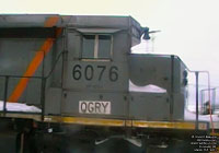 QGRY 6076 - SD40-3 (To BPRR 3333 via QGRY 6076 - ex-CN 5148)