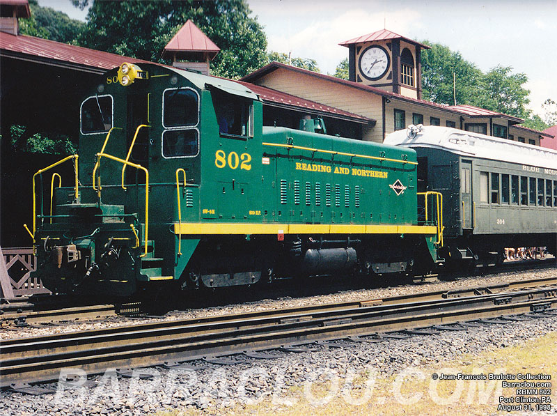 Reading Blue Mountain And Northern Railroad Rbmn Blue