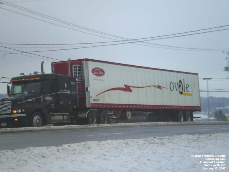 Food Transport Truck