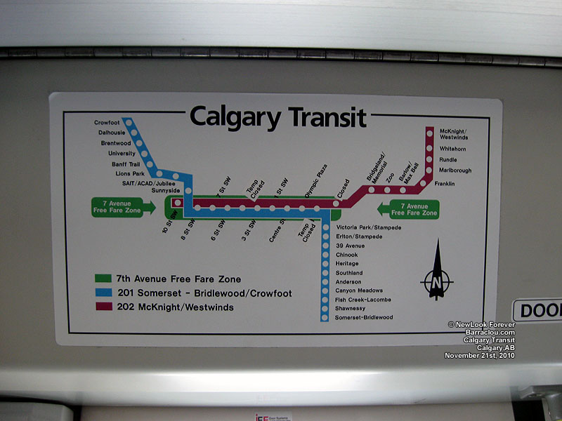Calgary Transit C Train Stations Barraclou Com