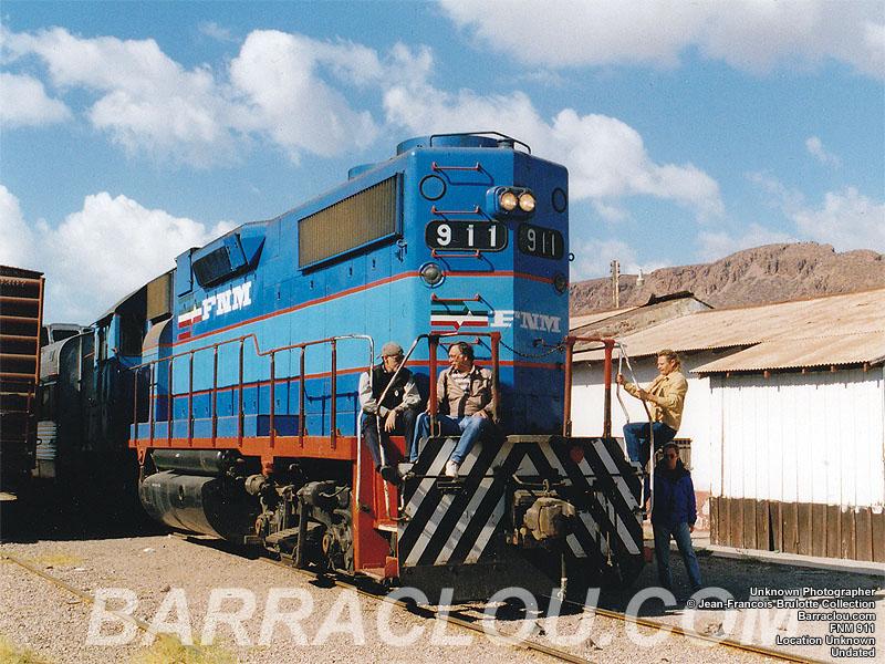 Ferrocarriles Nacionales de México - NdeM - Barraclou.com